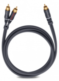 Oehlbach BOOOM! Y-adapter cable, anthracite