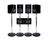MJ AcousticsXeno 5.1 Systems MKIIPiano Black